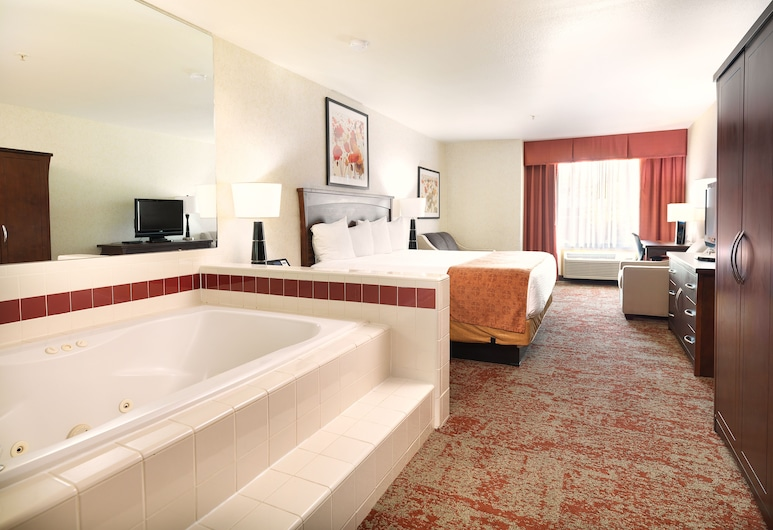 Crystal Inn Hotel & Suites Salt Lake City - Downtown, Солт-Лейк-Сити, Standard King w/ Jetted tub, Номер