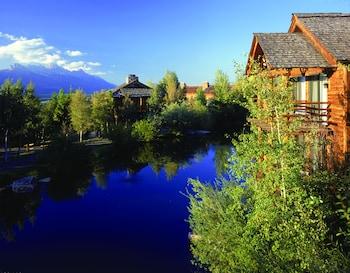 Jackson bölgesindeki Spring Creek Ranch resmi