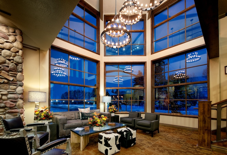The Lexington at Jackson Hole, Jackson, Sitzecke in der Lobby