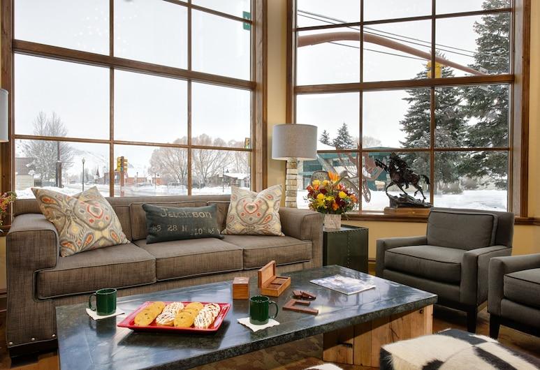 The Lexington at Jackson Hole, Jackson, Sala de estar en el lobby