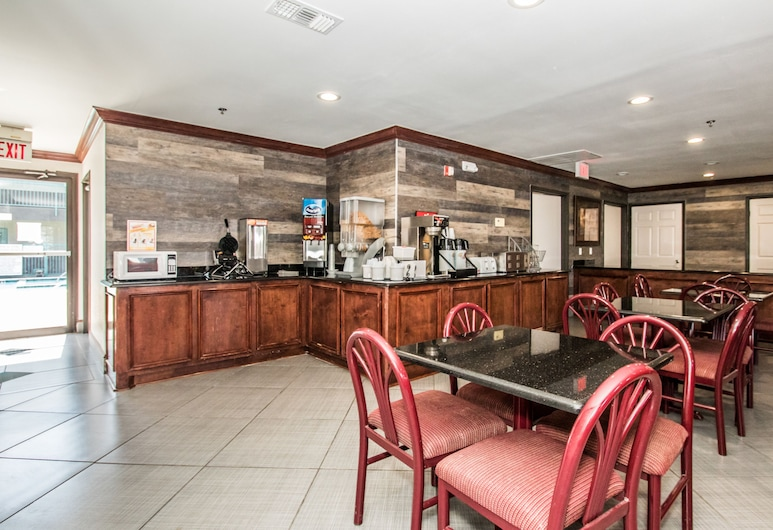 Americas Best Value Inn Ft. Worth, Fort Worth, Área para desayunar