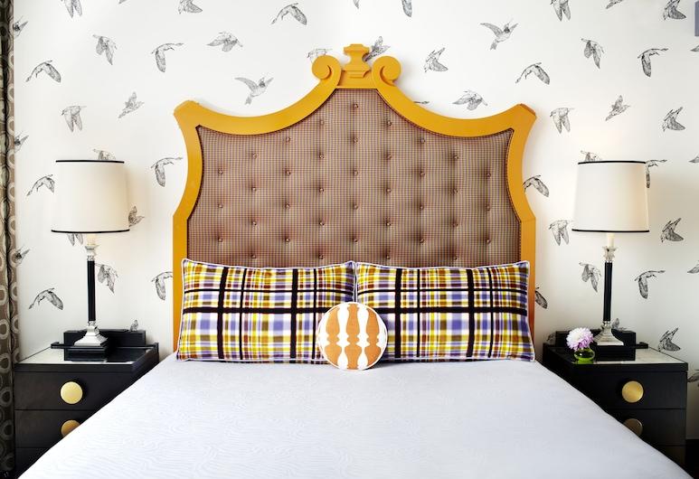 Royal Sonesta Portland, פורטלנד, סוויטת פרימיום, מיטת קינג, חדר אורחים