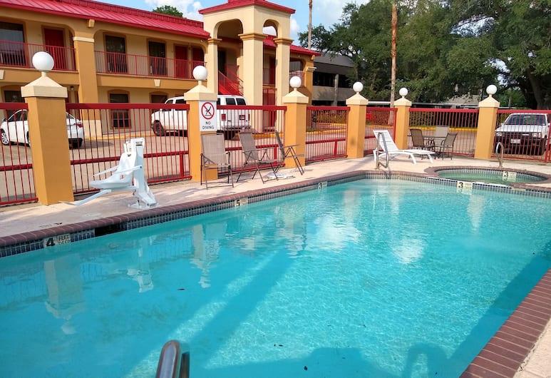 Econo Lodge Inn & Suites West - Energy Corridor, Houston, Bazén