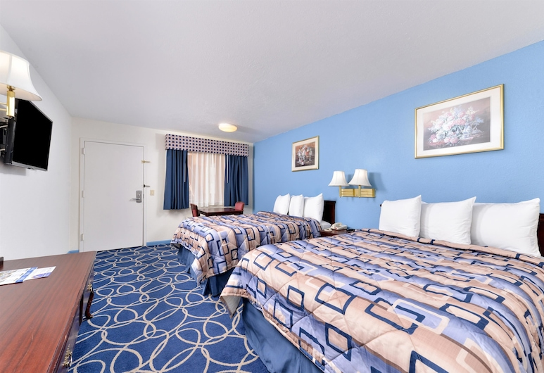 Americas Best Value Inn & Suites Houston Brookhollow NW, Houston, Suite, 2 Queen Beds, Accessible, Guest Room