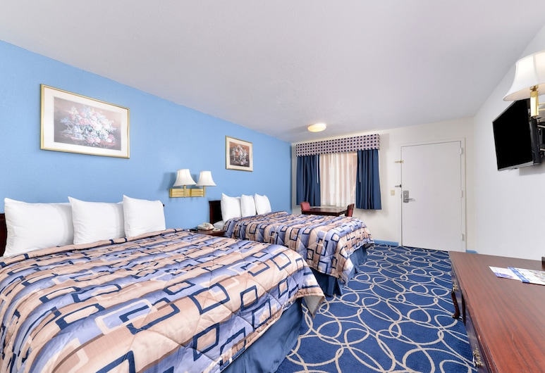 Americas Best Value Inn & Suites Houston Brookhollow NW, Houston, Room, 2 Queen Beds, Accessible, Guest Room