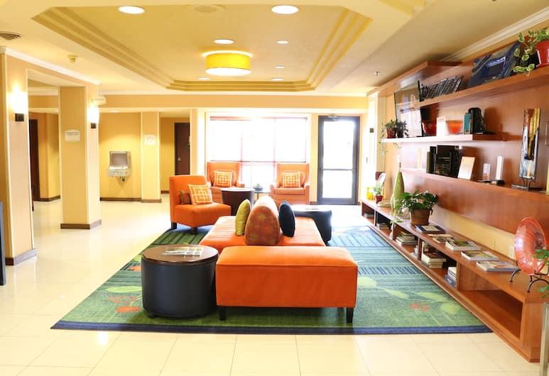Fairfield Inn & Suites by Marriott Portland Airport, Portland, Puhkeala fuajees
