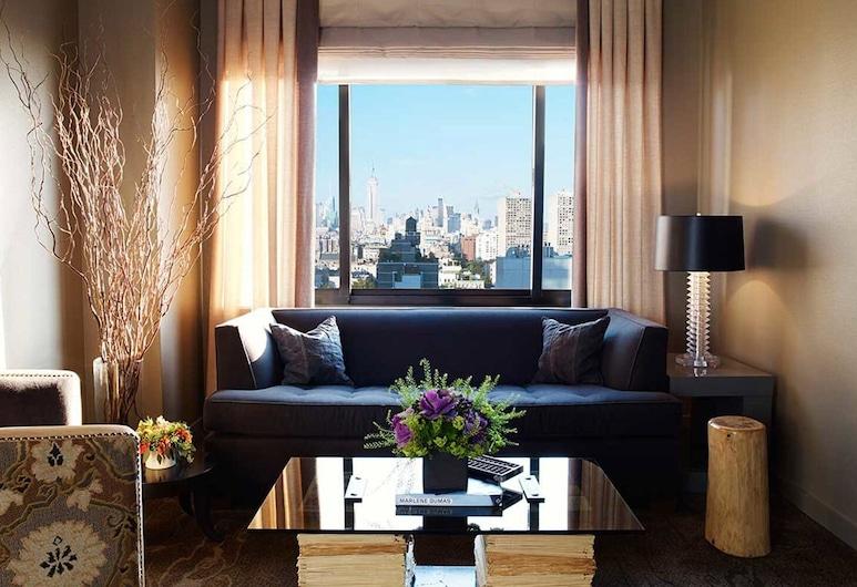 Soho Grand Hotel, Nova Iorque, Suite Deluxe, 1 Quarto, Sala de Estar
