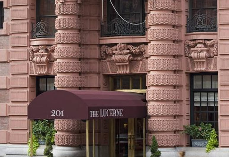 The Lucerne Hotel, New York, Hoteleingang