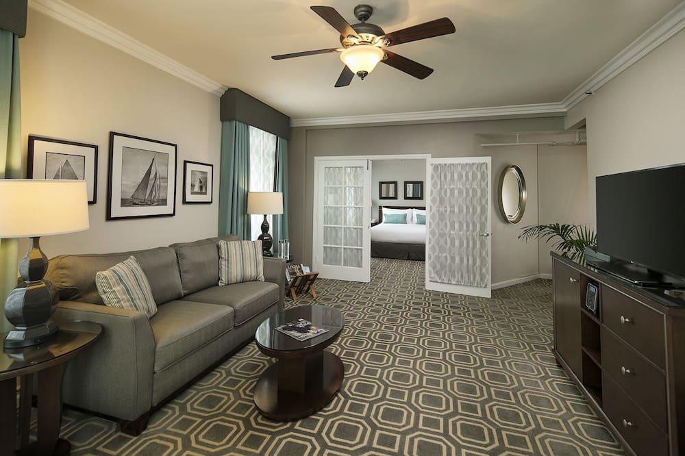 Suite, 1 Tempat Tidur King - Ruang Keluarga