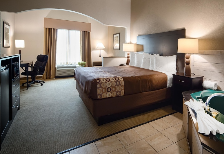 Best Western Suites, Columbus, Suite, 1 King Bed, Non Smoking, Jetted Tub, Guest Room