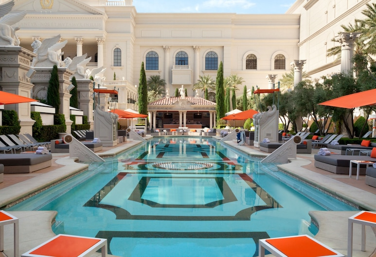 Caesars Palace - Resort & Casino, Las Vegas, Outdoor Pool