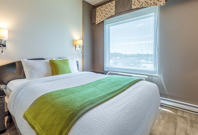 Days Inn by Wyndham Berthierville, แบร์ทิเยร์วีล, ห้องพัก, เตียงควีนไซส์ 1 เตียง, ปลอดบุหรี่, ห้องพัก