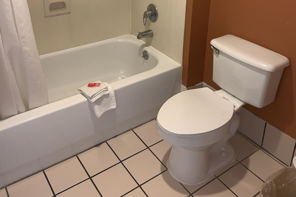 標準客房, 1 張特大雙人床, 吸煙房 - 浴室