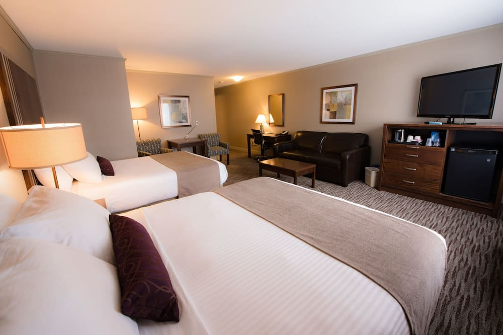 Habitación estándar, Varias camas, para no fumadores, refrigerador - Habitación
