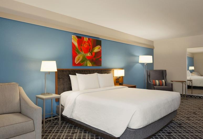 Hilton Garden Inn Dallas Market Center, Dallas, Deluxe, King-Bett, Schlafsofa, Zimmer