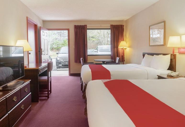 OYO Hotel Adairsville Hwy 140, Adairsville, חדר פרימיום, 2 מיטות קווין, למעשנים, חדר אורחים