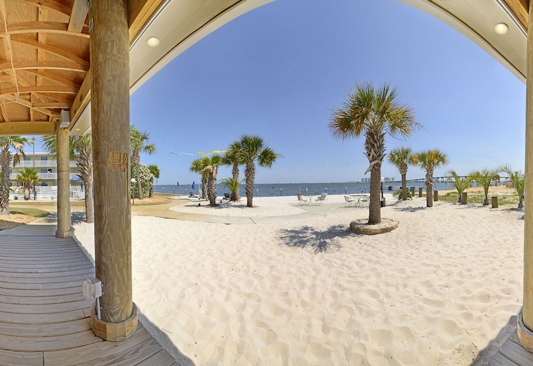 Best Western Navarre Waterfront, Navarre, Plaża