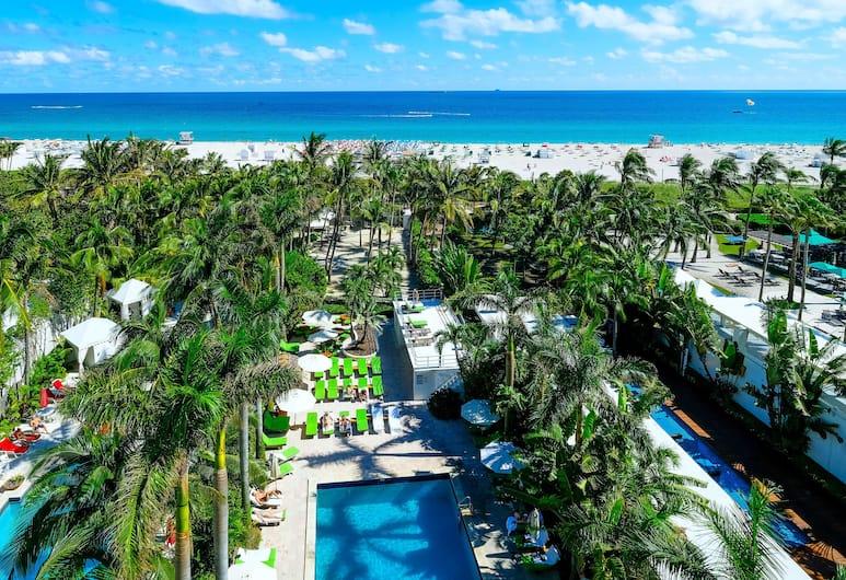 사우스 시즈 호텔, 마이애미 비치, 룸, 킹사이즈침대 1개, 바닷가, 객실