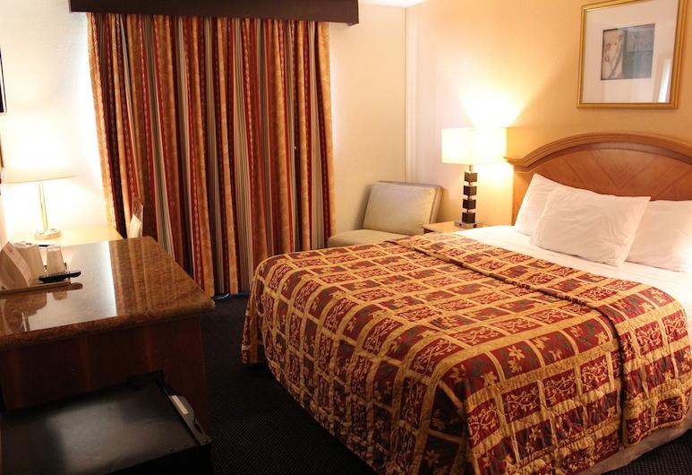 แกรนด์อินน์, ฟุลเลอร์ตัน, ห้องพรีเมียม, เตียงคิงไซส์ 1 เตียง, ห้องพัก
