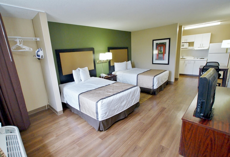 Extended Stay America Nashville - Airport, Nashville, Studio, 2 Double Beds, Non Smoking, Guest Room