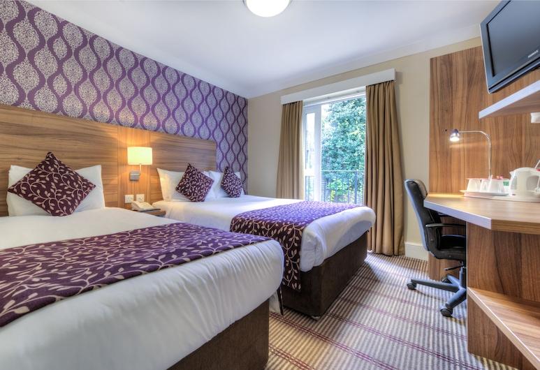 倫敦肯辛頓市大陸酒店, 倫敦, 標準三人房, 客房