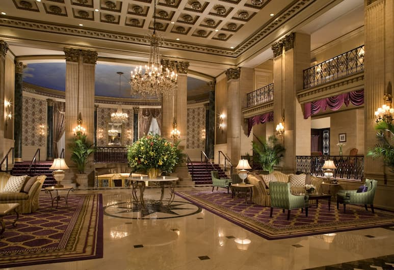 The Roosevelt Hotel, New York City, New York, Lobby társalgó