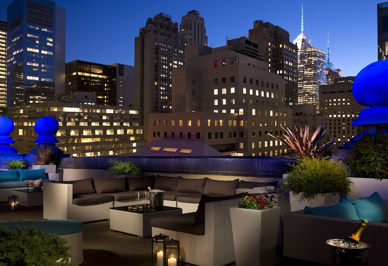 The Roosevelt Hotel, New York City, New York, Terrace/Patio
