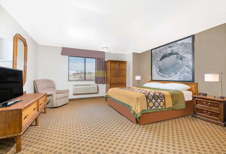 Super 8 by Wyndham Santa Rosa, Santa Rosa, Standard-huone, 1 suuri parisänky, Vierashuone