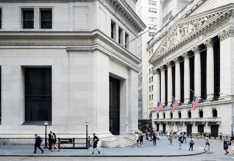 Radisson Hotel New York Wall Street, Ņujorka, Viesnīcas priekšskats