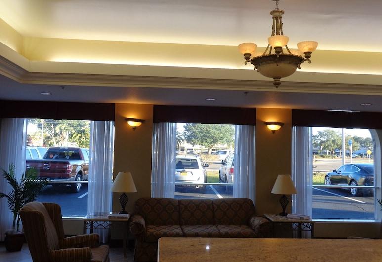 Ruskin Inn Hotel, Ruskin, Lobby Sitting Area