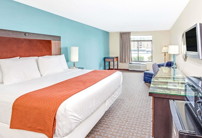 Days Inn by Wyndham College Park/Atlanta /Airport South, College Park, Quarto, 1 cama king-size, Acessível, Não-fumadores (Mobility Accessible), Quarto