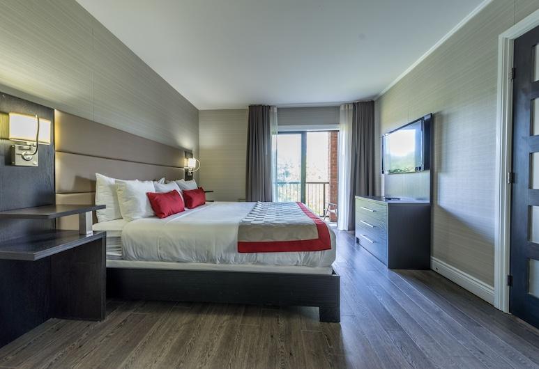 Ramada by Wyndham Ottawa On The Rideau, Ottawa, Štúdiový apartmán, 1 extra veľké dvojlôžko, nefajčiarska izba, výhľad na rieku (No Pets), Hosťovská izba