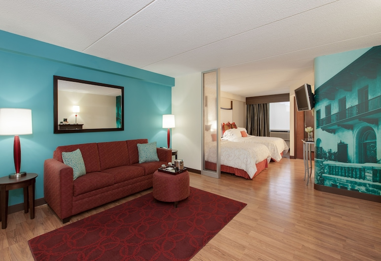 Hotel Indigo Vernon Hills, Vernon Hills, Soba, 2 bračna kreveta, za nepušače, Soba za goste