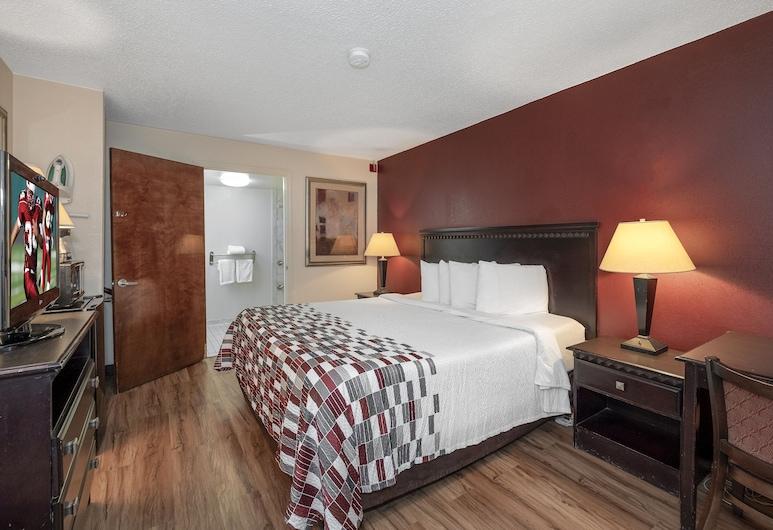 Red Roof Inn & Suites Oxford, Oxford, Quarto Deluxe, 1 cama king-size, Acessível, Não-fumadores, Quarto