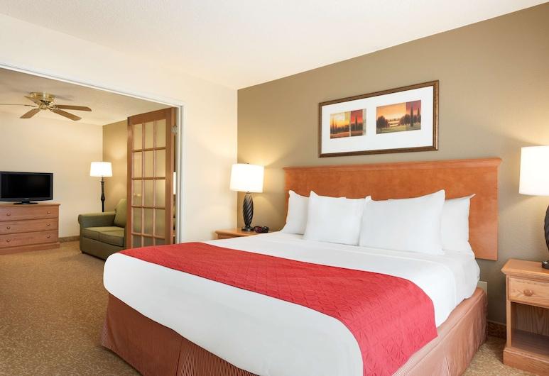 Country Inn & Suites by Radisson, Davenport, IA, Davenport, Suite, 1 Quarto, Não-fumadores, Quarto