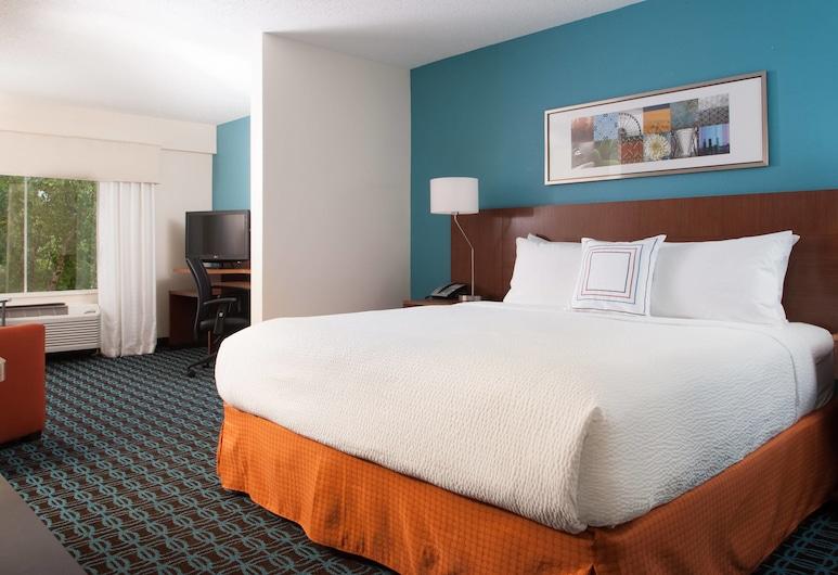Fairfield Inn by Marriott Charlotte Gastonia, Gastonia, Quarto, 1 cama king-size com sofá-cama, Quarto