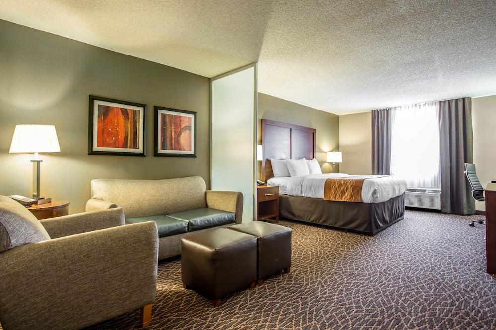 Suite, 1King-Bett und Schlafsofa, Nichtraucher - Wohnbereich