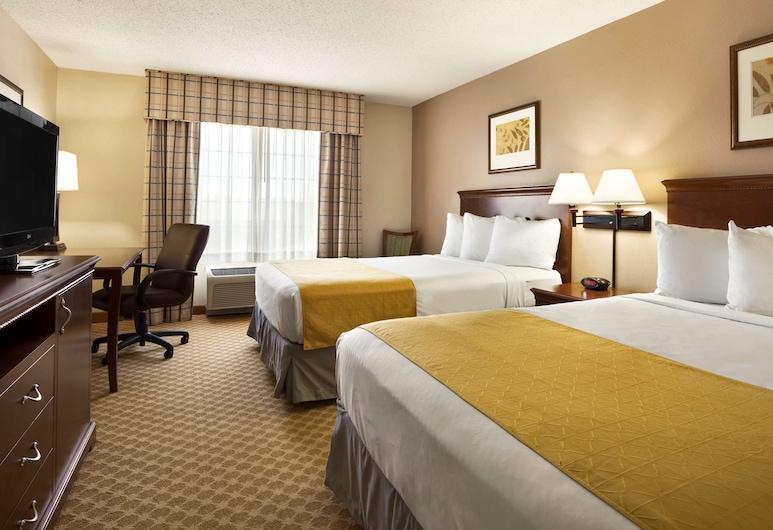 Country Inn & Suites by Radisson, Toledo, OH, Maumee, Standarta numurs, 2 divguļamās karalienes gultas, nesmēķētājiem, Viesu numurs