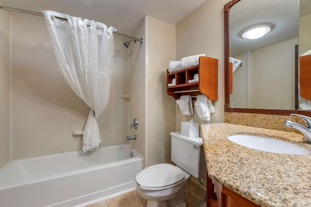 Kamar Standar, 1 Tempat Tidur King, non-smoking, hot tub - Kamar mandi