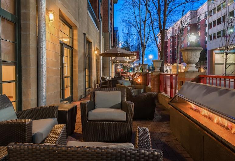 Residence Inn by Marriott Chattanooga Downtown, צ'טנוגה, מרפסת/פטיו