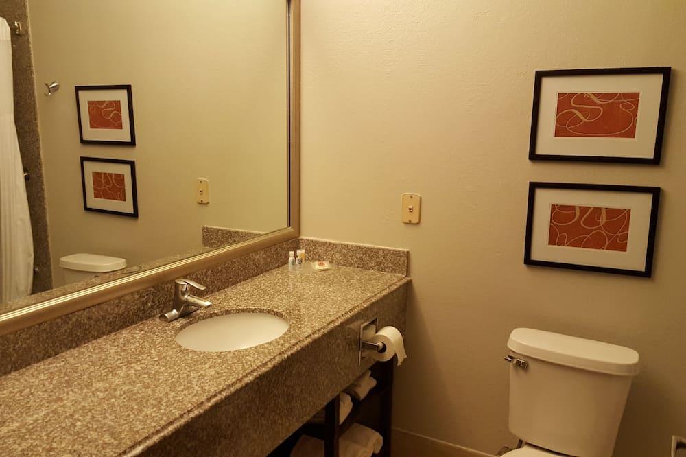 套房 (1 King bed and 1 Sofabed) - 浴室