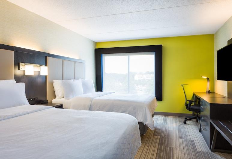 Holiday Inn Express Lorton, לורטון, חדר, 2 מיטות קווין, ללא עישון, חדר אורחים