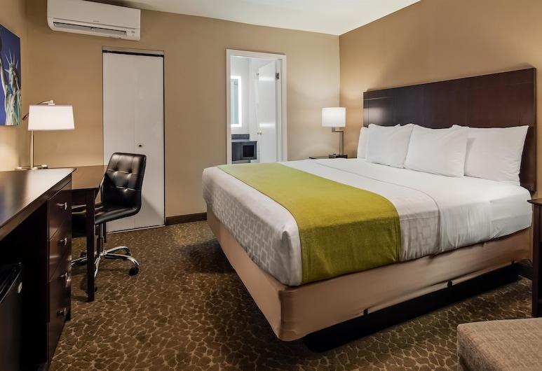 Best Western Fort Lee, Fort Lee, Numeris, 1 didelė dvigulė lova ir 1 sofa-lova, Nerūkantiesiems, šaldytuvas (with Sofabed), Svečių kambarys