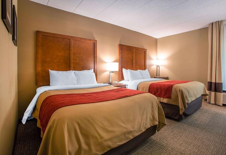 Comfort Inn Dayton - Huber Heights, Dayton, Standardrum - 2 queensize-sängar - icke-rökare, Gästrum