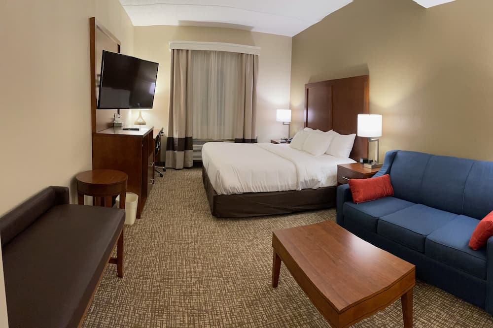 Superior Room, 1 King Bed with Sofa bed, Non Smoking - Bathroom
