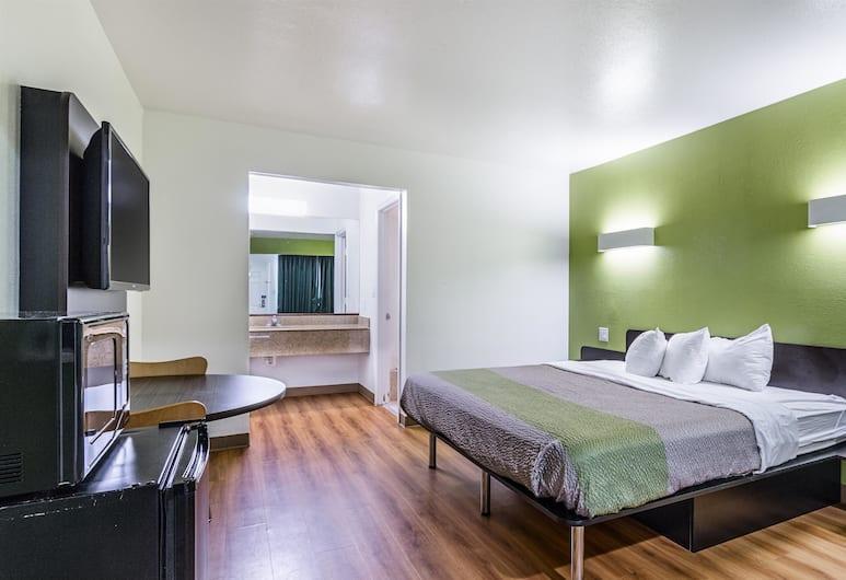 Motel 6 San Marcos, TX - North, San Marcos, Paaugstināta komforta numurs, 1 divguļamā karaļa gulta, nesmēķētājiem, Viesu numurs