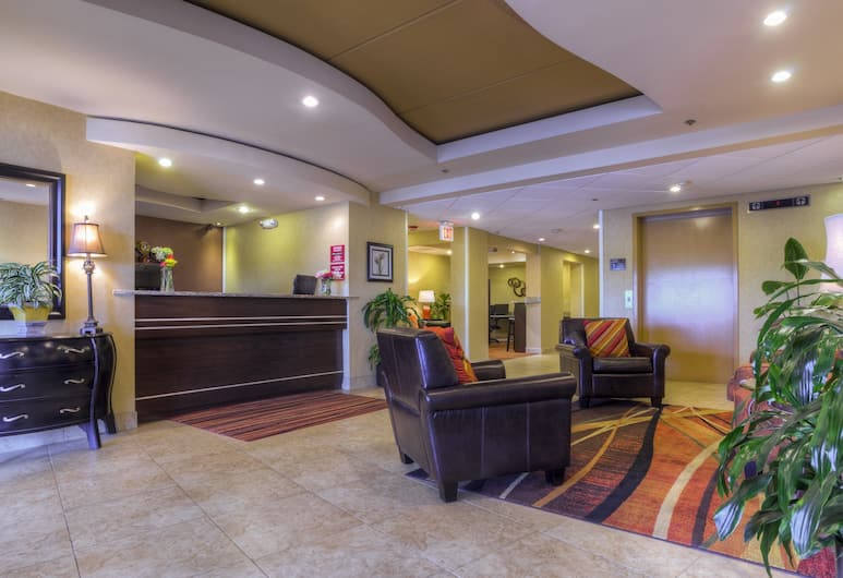 Clarion Inn & Suites West Knoxville, Knoxville, Lobby társalgó