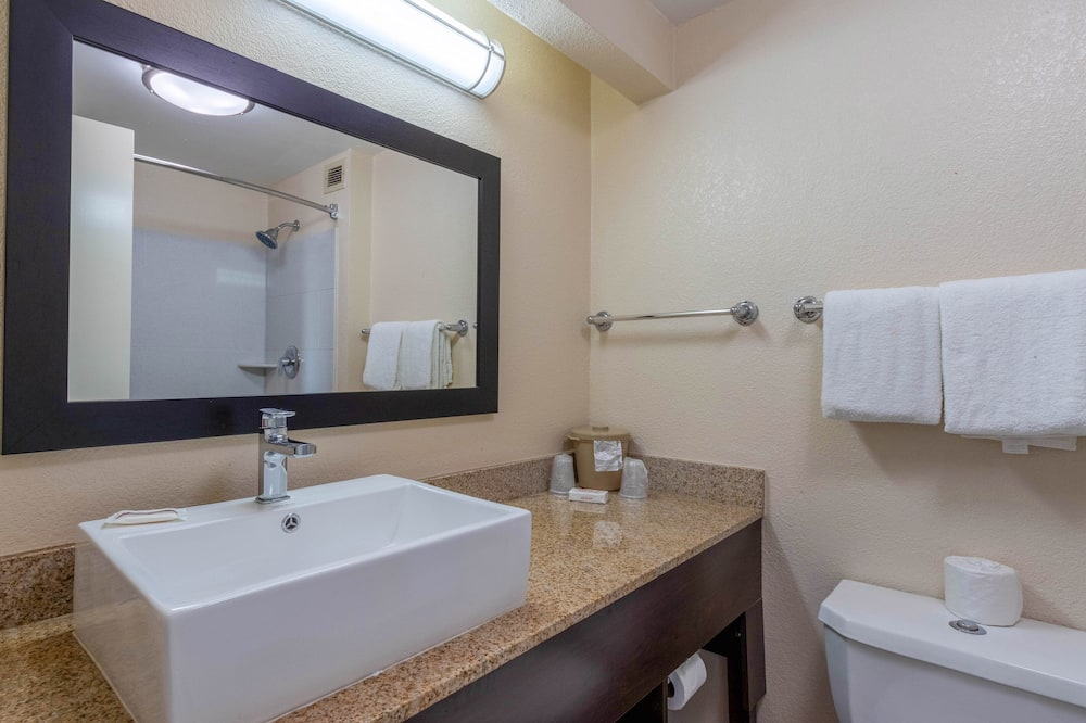 Premium Room, 1 King Bed, Accessible (Upgraded Bedding & Snack, Smoke Free) - Bathroom