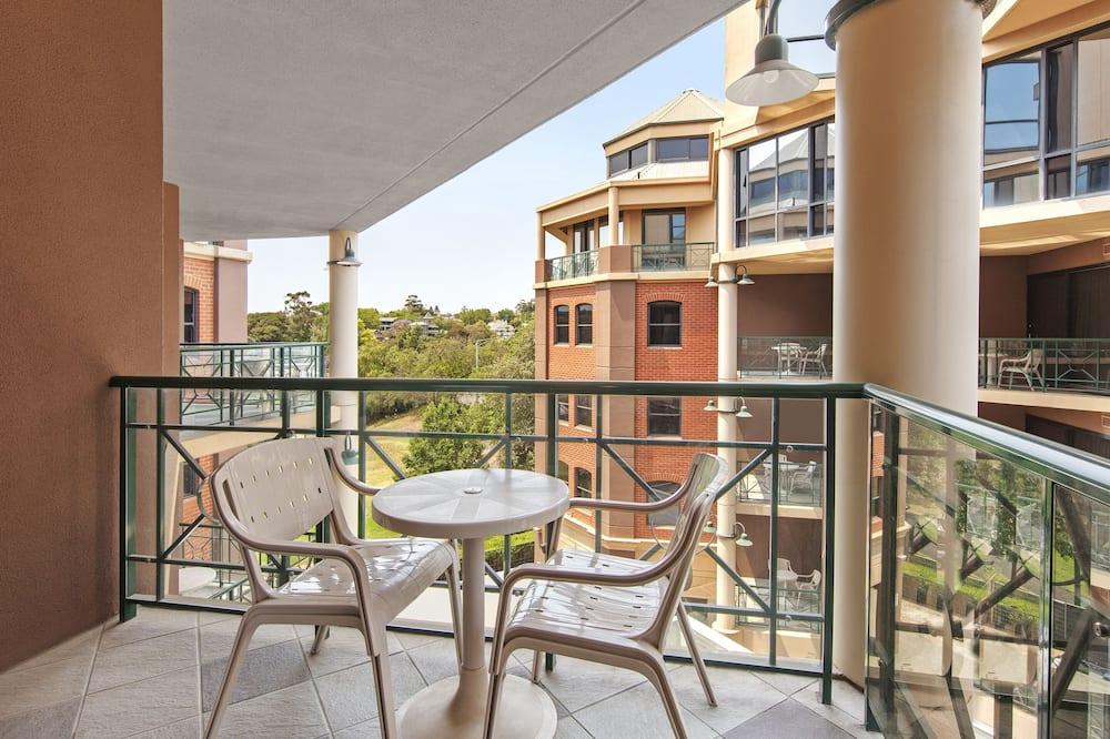 Номер «Делюкс», 2 односпальные кровати - Вид с балкона