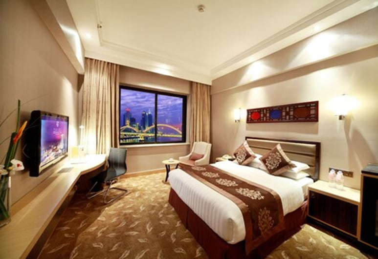 Hotel Landmark Canton, Guangzhou, Landmark River View Room, Guest Room View